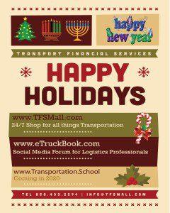 Happy Holidays from eTruckBook!